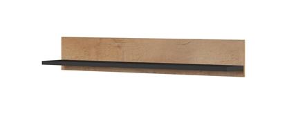 Attēls no Cama set of two shelves 125cm SOHO lefkas oak/black