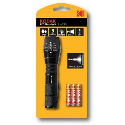 Attēls no Kodak Ultra 290 Black Hand flashlight LED