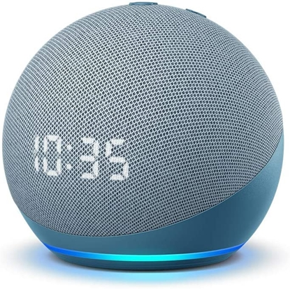 Picture of Amazon Echo Dot 4 Clock, twilight blue
