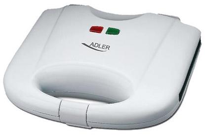 Attēls no Adler AD 311 waffle iron 2 waffle(s) White 700 W