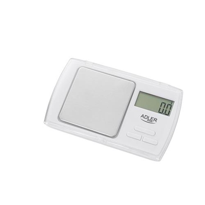 Attēls no Adler AD 3161 kitchen scale Electronic personal scale White Rectangle