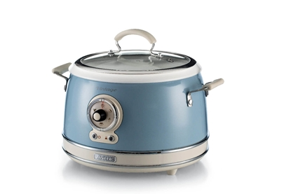 Picture of Ariete Vintage Food Steamer, blue