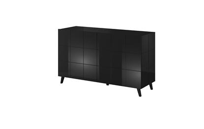Изображение Cama sideboard 2D REJA black gloss/black gloss