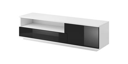 Изображение Cama TV cabinet MUZA 138/40/41 white/black gloss