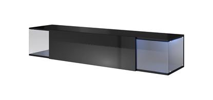 Изображение Cama TV cabinet VIGO SKY 160/40/30 black/black gloss