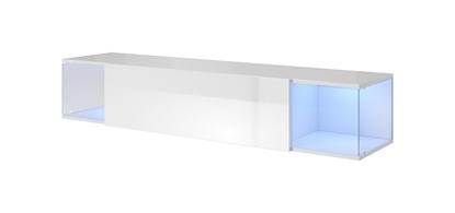 Изображение Cama TV cabinet VIGO SKY 160/40/30 white/white gloss