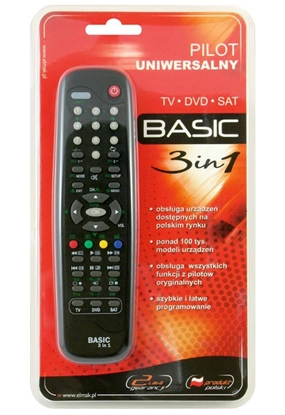 Picture of Elmak Universal Remote Control Basic 3in1