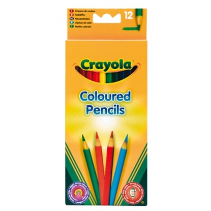 Picture of CRAYOLA - Coloured Pencils, 12 Colors