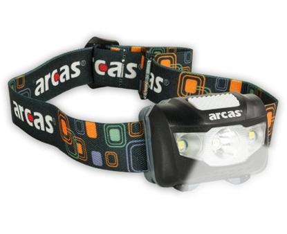 Attēls no Arcas Headlight ARC5 1 LED+2 Flood light LEDs, 5 W, 160 lm, 4+3 light functions