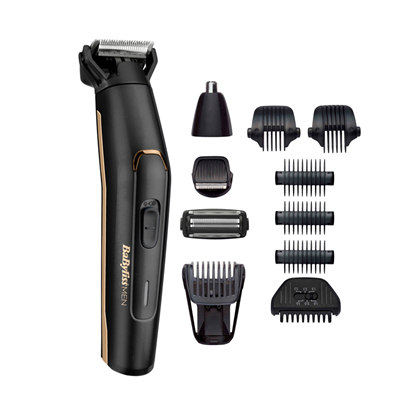 Picture of BABYLISS Multi Trimmer 11in1 MT860E Cordless, Wet & Dry, Black