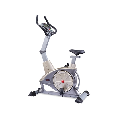 Изображение WNQ F1-7318LC ECB Semi-Commercial Upright Bike, ECB motor permanent magnetic resistance system, 130 kg, Silver Grey, 5 '' LCD blue screen, 10 exercise modes: Manual; Interval; Fluctuation; Weightlessness; Inclination running; Climbing; Fat burning; Racing