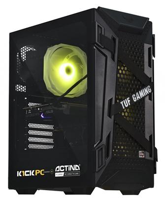 Attēls no Actina 5901443280569 PC DDR4-SDRAM 5600X Midi Tower AMD Ryzen 5 16 GB 1000 GB SSD Black