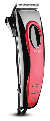 Picture of Adler Hair clipper AD 2825 Corded, Red