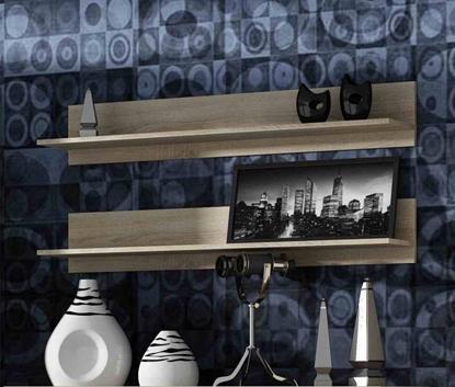 Attēls no Cama set of two shelves 125cm SOHO sonoma oak matte