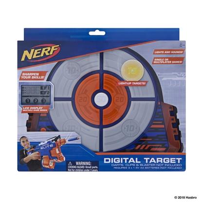 Attēls no JAZWARES NERF Elite Strike Digitālais mērķis