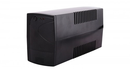 Attēls no 1200 VA / 720W  Line-Interactive UPS | Nepārtrauktās barošanas bloks, akumulatori 2x7Ah