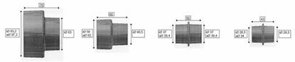 Picture of Adapteru komplekts (4 gab.). OSM 100 / HA 1000, Scheppach
