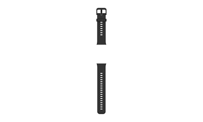 Picture of Huawei Watch FIT Strap, Silicone, Graphite Black