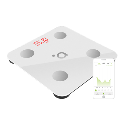 Изображение Acme Smart Scale SC103 Maximum weight (capacity) 180 kg, Body Mass Index (BMI) measuring, White
