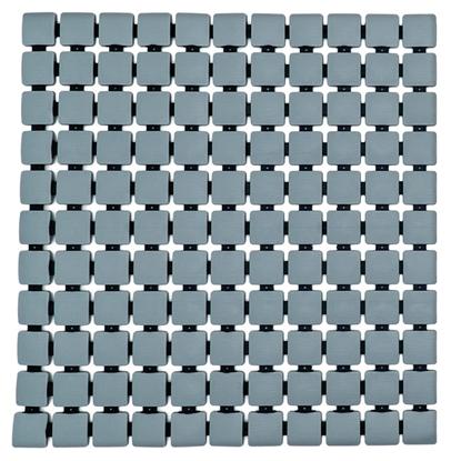 Attēls no Dušas paklājs 54x54 Nevis pelēks