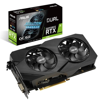 Picture of ASUS Dual -RTX2060-O6G-EVO GeForce RTX 2060 6 GB GDDR6