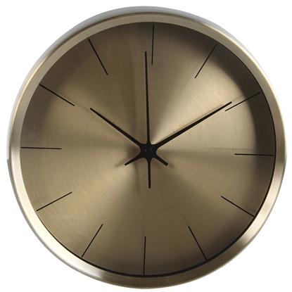 Attēls no Pulkstenis sienas 4living Metal 26cm
