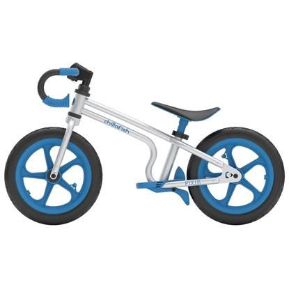 Picture of Akcija! Chillafish Fixie līdzsvara velosipēds, zila, no 2 līdz 5 gadiem