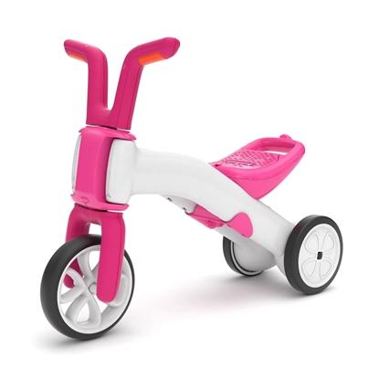 Picture of Akcija! Chillafish Bunzi līdzsvara velosipēds - transformers pašiem mazākajiem 2-in-1, rozā, no 1 līdz 3 gadiem