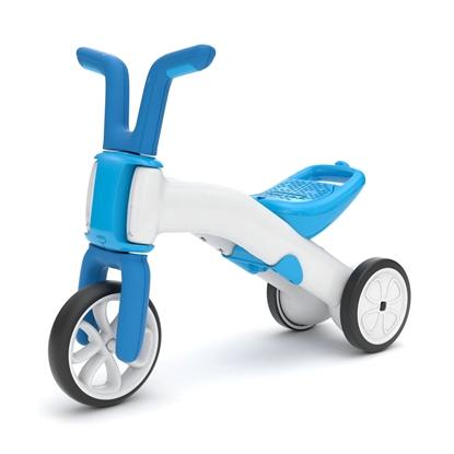 Picture of Akcija! Chillafish Bunzi līdzsvara velosipēds - transformers pašiem mazākajiem 2-in-1, zila, no 1 līdz 3 gadiem