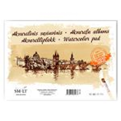 Picture of Akvareļu albums A3,  10 lapas,  210 g/m2,  SMLT