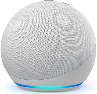 Picture of Amazon Echo Dot 4, glacier white