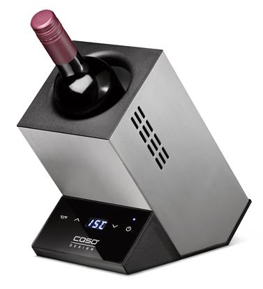 Изображение Caso Wine cooler for one bottle WineCase One Free standing, Bottles capacity 1, Inox