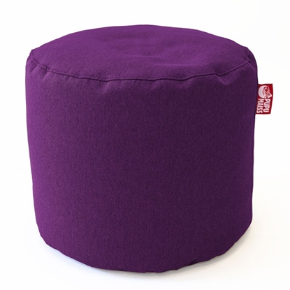 Изображение Mocco Pupu Maiss Pouf POP COZY made of upholstery fabric 35x45 cm Violet