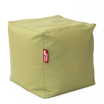 Изображение Mocco Pupu Maiss Pouf SMART 40x40x40 cm made of eco leather Olive