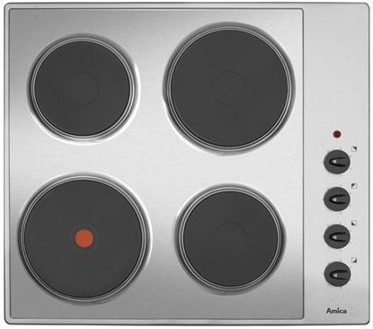 Attēls no Amica PEB6101R electric hob 4 zones Inox