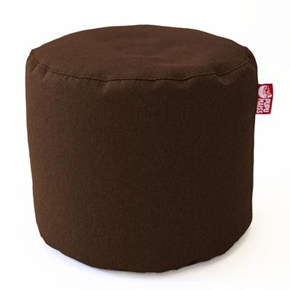 Изображение Mocco Pupu Maiss Pouf POP COZY made of upholstery fabric 35x45 cm Brown