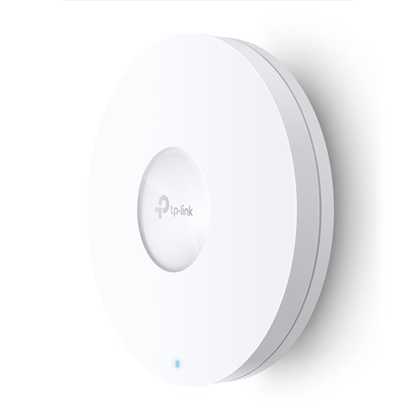Picture of Access Point|TP-LINK|1800 Mbps|IEEE 802.11a|IEEE 802.11g|IEEE 802.11n|IEEE 802.11ac|IEEE 802.11ax|1x10/100/1000M|EAP620HD