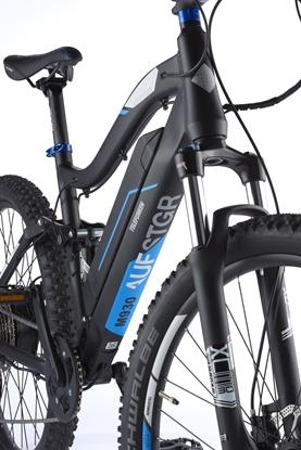 """Изображение Telefunken Aufsteiger M930, MTB E-Bike, Motor power 250 W, Wheel size 27.5 """", Warranty 24 month(s), Anthracite/Blue"""