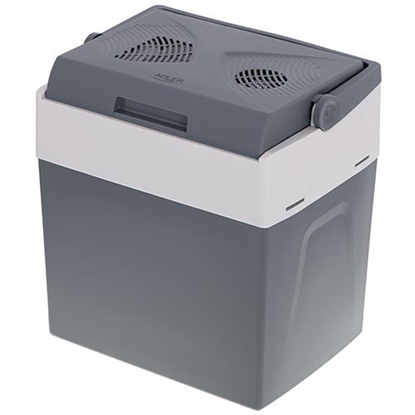 Picture of Adler AD 8078 cool box 30 L Electric Grey, White