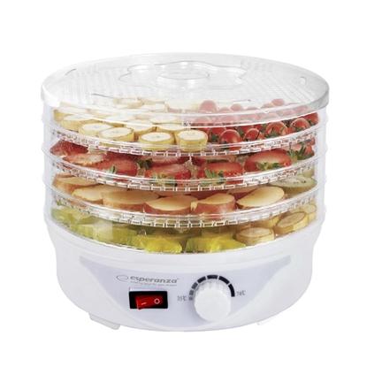 Изображение Esperanza EKD003 Food dehydrator,Transparent,White 250 W
