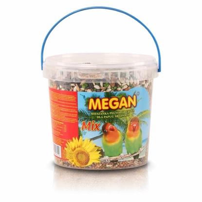 Изображение Megan ME11 pet bird food 650 g