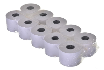Attēls no NC Thermal roll for cash registers 28MM X 20M 10 pieces