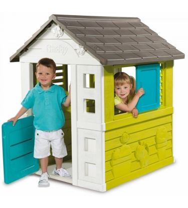 Изображение Bērnu dārza mājiņa Smoby Pretty 98 x 110 x 127 cm 810710