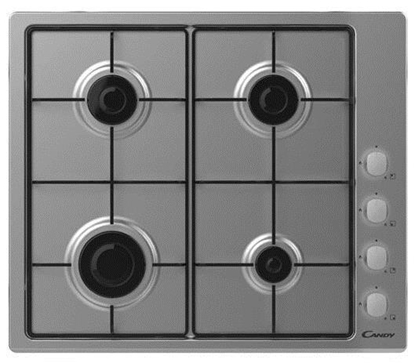 Attēls no Candy CHW6LX Stainless steel Built-in 60 cm Gas 4 zone(s)