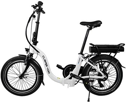 "Attēls no Blaupunkt Folding E-bike Speed, Wheel size 20 "", Warranty 24 month(s), 22 kg, Aluminum, White/Black, 70 km"