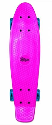 Изображение Akcija! No Rules Skateboard fun skrituļdēlis ar gaismiņām, rozā