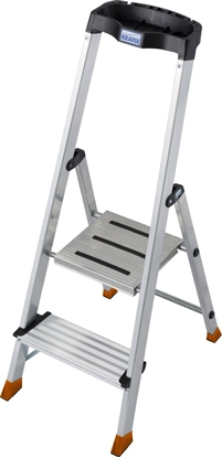 Picture of Krause Sepuro Folding ladder silver