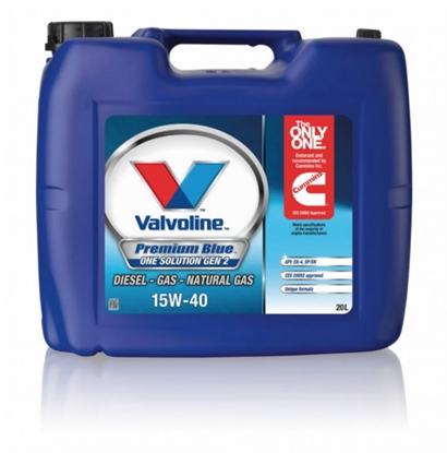 Изображение Motoreļļa PREMIUM BLUE ONE SOL GEN2 15W40 20L, Valvoline