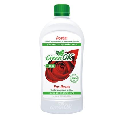 Изображение Mēslojums rozēm GreenOK ar humātiem 750ml