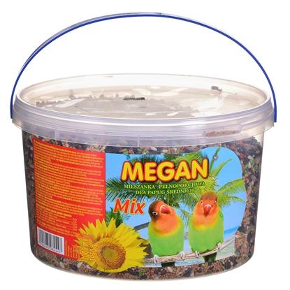 Изображение MEGAN Pokarm dla średnich papug 3l